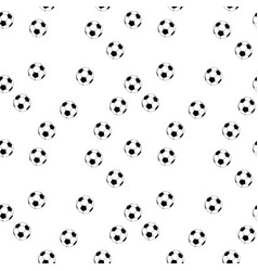 seamless football background vector image