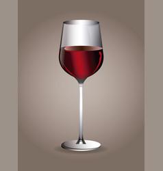 wine beverage glassware image vector image vector image