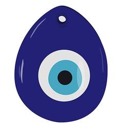 Turkish eye amulet vector image vector image