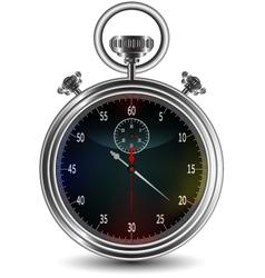 design of stopwatch vector image