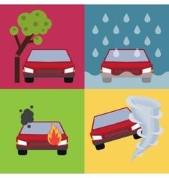 Auto insurance vector