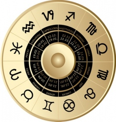 horoscope vector image
