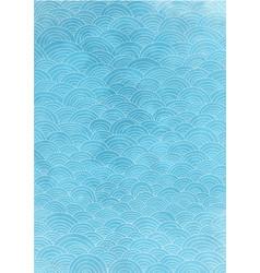 line curve ocean water wave background vector image