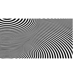 Optical lines background abstract 3d vector