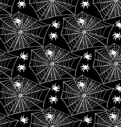 Sketch net with spider vector image