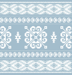 Traditional ornamental pattern vector