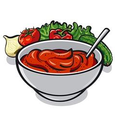 tomato sauce vector image