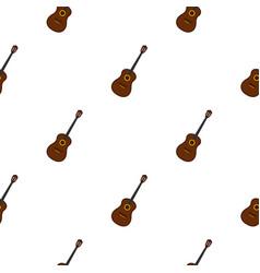 charango music instrument pattern seamless vector image