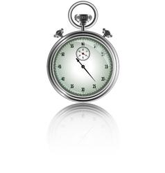 design of stopwatch vector image vector image