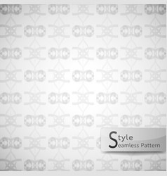 abstract seamless pattern ribbon bow white vector image vector image
