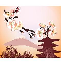 Japanese symbols vector image