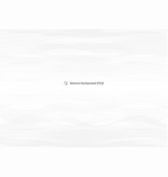abstract white waves overlap on gray background vector image