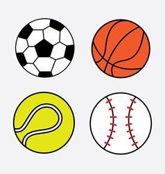 Balls design vector