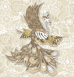 Bird Phoenix menndi vector