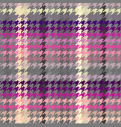 Classic hounds-tooth pattern in abstract style vector