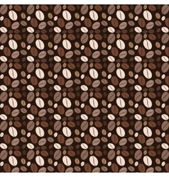 Coffee pattern kitchen flat vector image