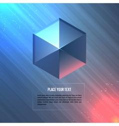 Geometric shape vector image