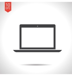 laptop icon Eps10 vector image