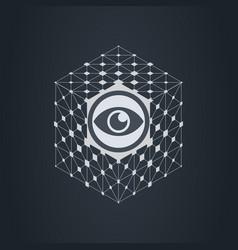 Neural network artificial intelligence digital vector