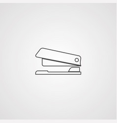 stapler icon sign symbol vector image
