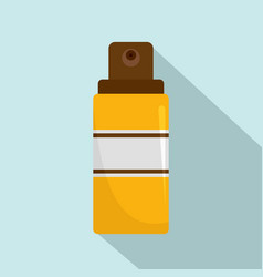Sun aqua spray icon flat style vector