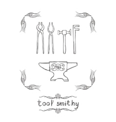 Tool Smithy Three vector
