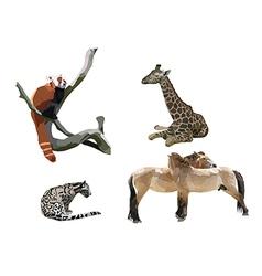 Wild animals II vector