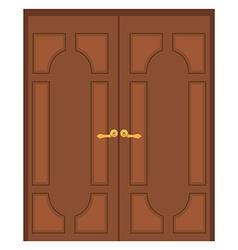 Double door vector