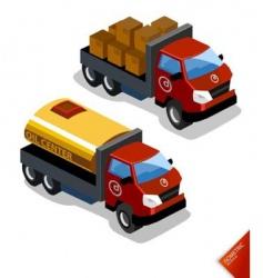 oil truck vector image vector image