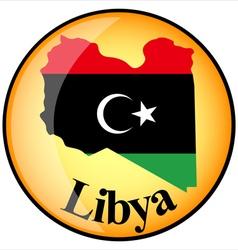 Button Libya vector