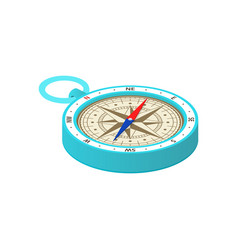 compass isometric icon on a white background vector image