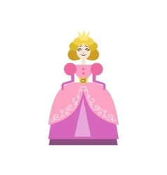 Fairytale Princess Drawing vector