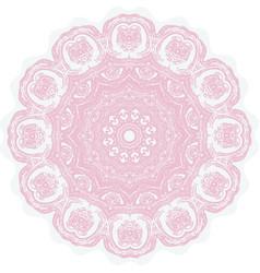 Grunge decorative mandala vector