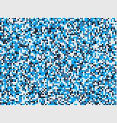Modern blue camouflage seamless pattern vector