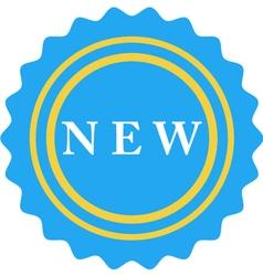 New badge vector