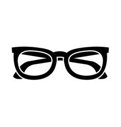 sunglasses frame fashion trendy accessory vector image
