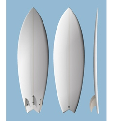 surfboard fish vector image