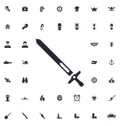 Sword icon vector