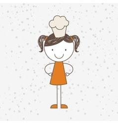 Nutritive food design vector