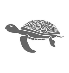 ocean turtle icon vector image