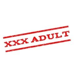 XXX Adult Watermark Stamp vector image vector image