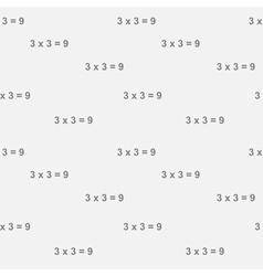 Three times three vector image