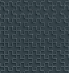 Dark perforated paper vector image vector image
