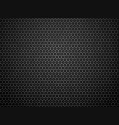Abstract dark geometric hexagon pattern vector