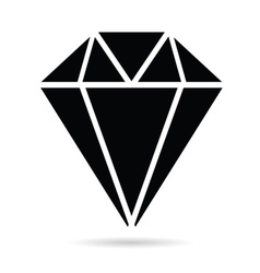 diamonds brilliant black vector image
