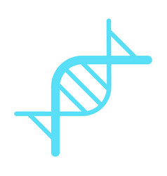 dna genetic sign logo dna icon vector image