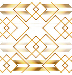 Isolated art deco background design vector