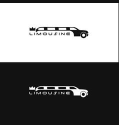 limosine logo vector image