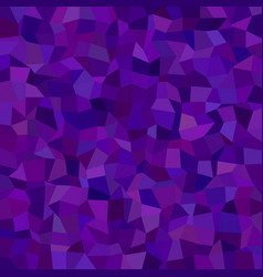 Purple abstract irregular tile mosaic background vector
