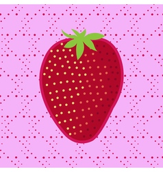 Strawberry Patch badge clip-art strawberry vector
